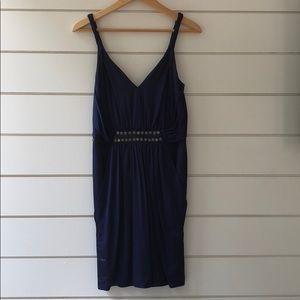 Royal Blue Grecian Inspired Dress